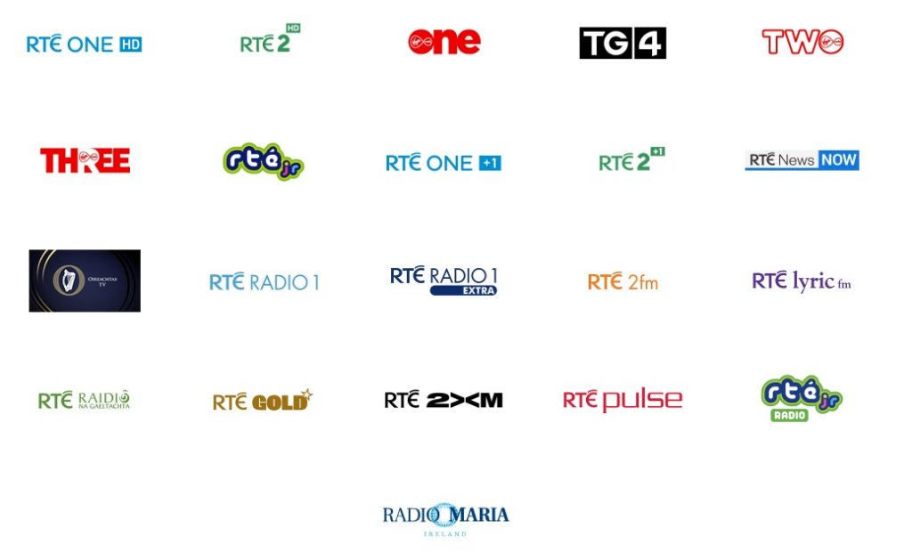 SAORVIEW CHANNEL LIST