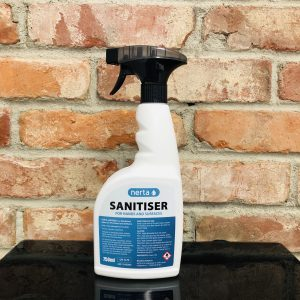 Hand & Surface Sanitiser 70 % Alcohol 750 ml Spray bottle