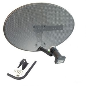 Satellite Dish 60 cm & Quad LNB